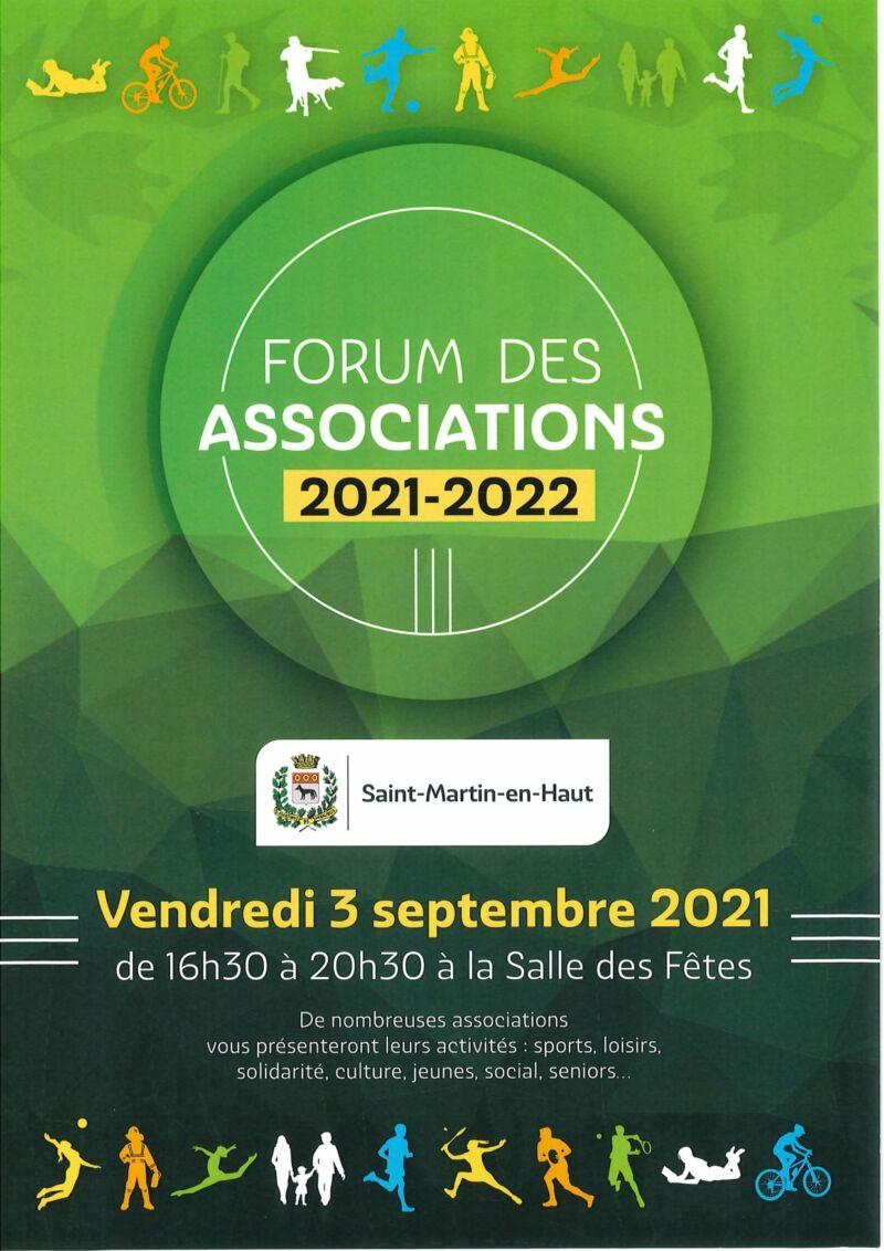 affiche forum asso 2021